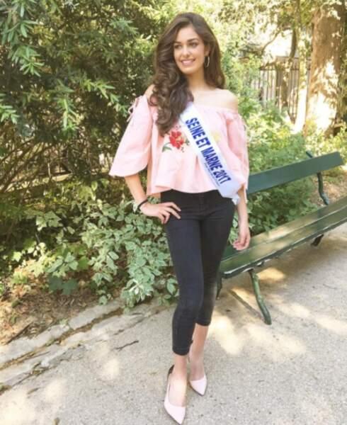 Election de Miss France 2018 - Lisa di Martino est Miss Ile-de-France 2017