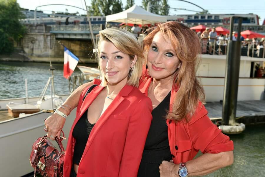 Julie Piétri et sa fille Manon