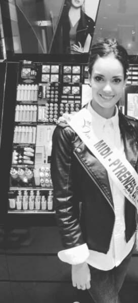 Election de Miss France 2018 - Anaïs Medellel est Miss Midi-Pyréenes 2017
