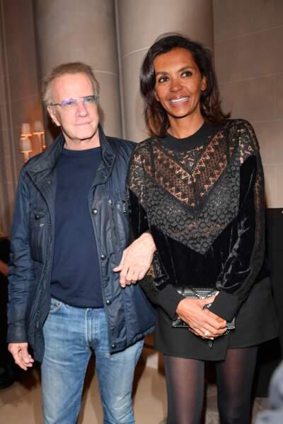 Christophe Lambert et Karine Le Marchand aux Stéthos d'Or