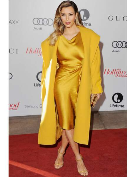 Kim Kardashian sur red carpet