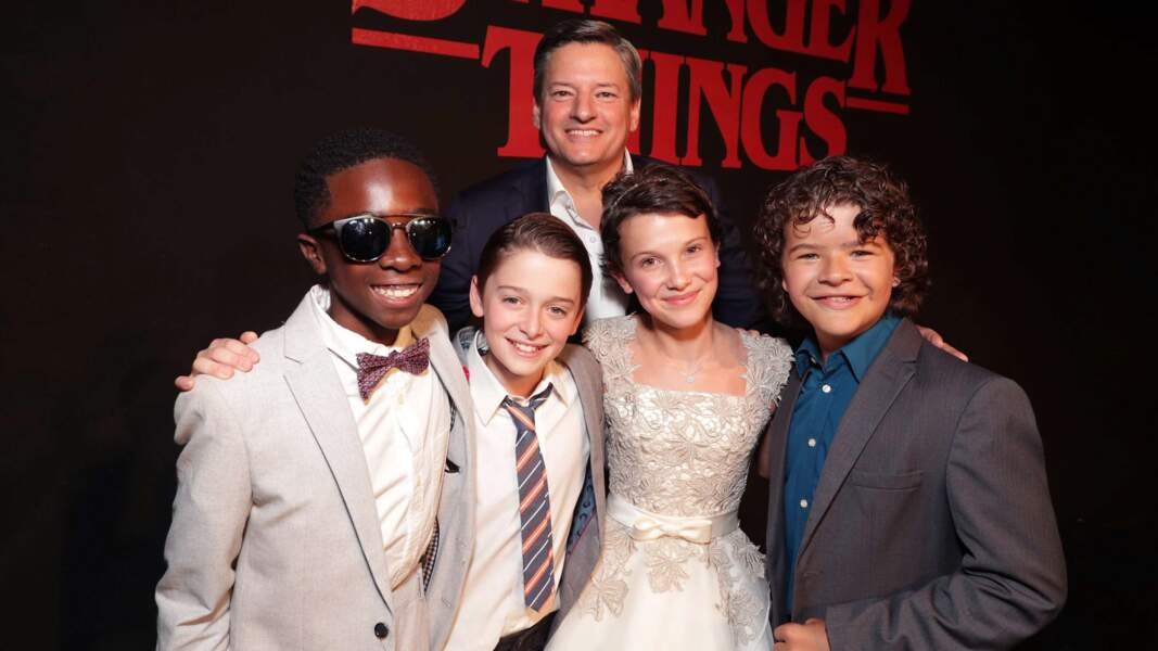 Les acteurs de Stranger Things en 2016