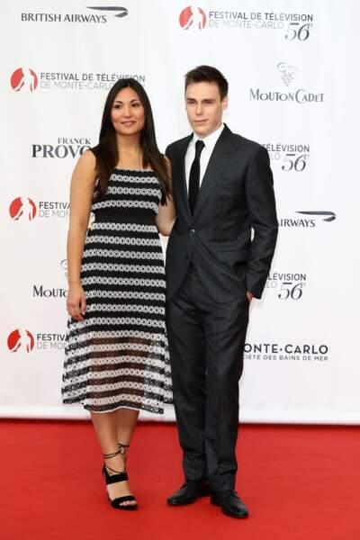 Louis Ducruet, le fils de Stéphanie de Monaco, est passé sur le tapis rouge avec sa compagne
