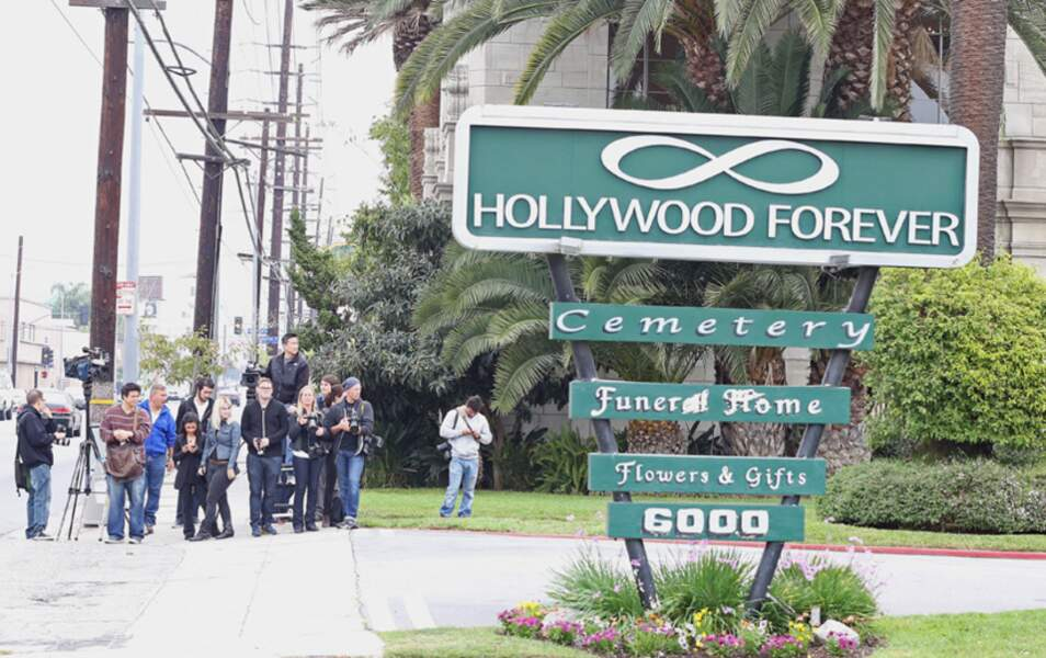 Le Hollywood Forever Cemetery...