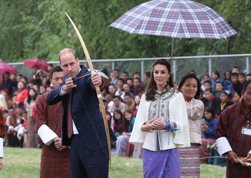 Le prince William arme, mais on en connaît une qui est plutôt sceptique