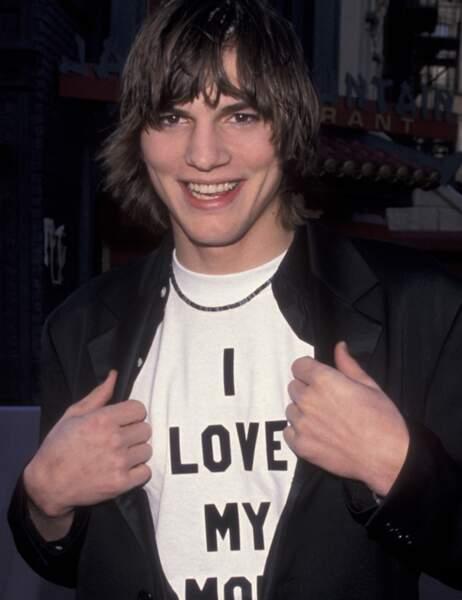 Avant, Ashton Kutcher aimait beaucoup sa maman.