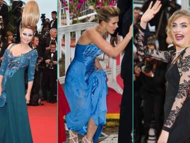 Grimaces, problèmes de robes : le bêtisier du Festival de Cannes