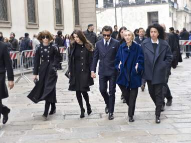Carla Bruni, Kate Moss, Naomi Campbell, Victoria Beckham... toutes présentes à la messe hommage à Franca Sozzani
