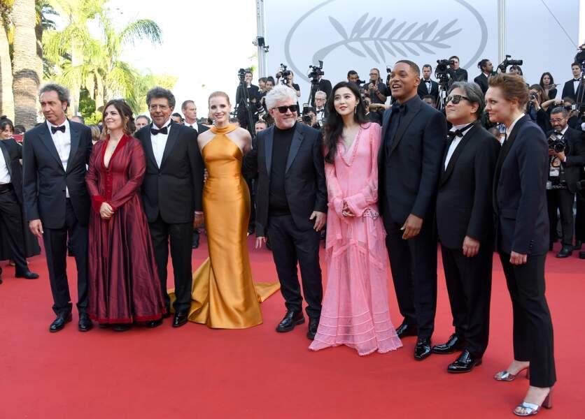 Cannes - Montée des Marches pour le 70ème anniversaire : Le jury