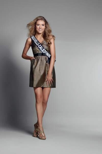 Miss Nouvelle Calédonie : Andréa Lux – 18 ans