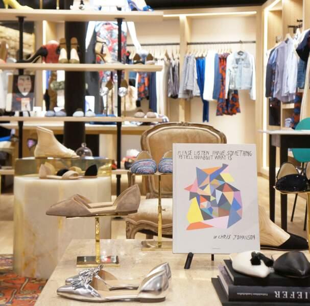 Aperçu nouvelle boutique JCrew à Paris