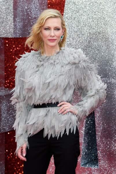 Cate Blanchett à l'avant-première d'Ocean's 8 à Londres