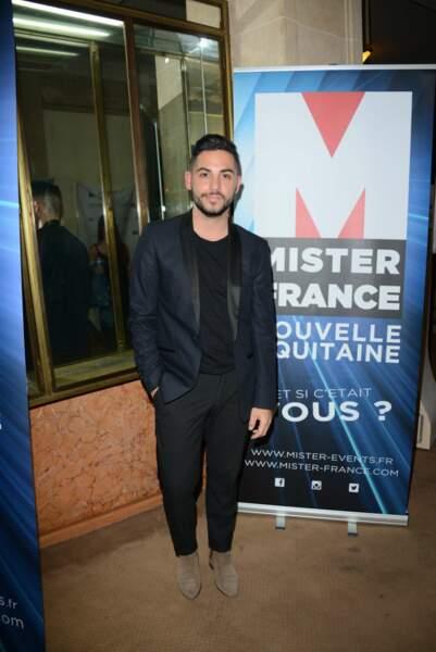 Élection Mister France 2017 : Alban Bartoli, ancien candidat de The Voice et des Anges