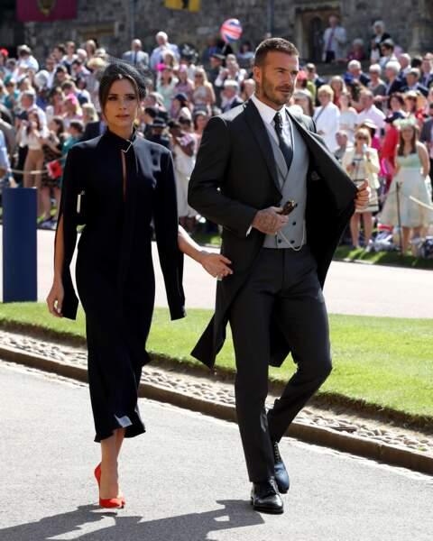 Mariage du prince Harry : Victoria Beckham fait scandale avec sa tenue