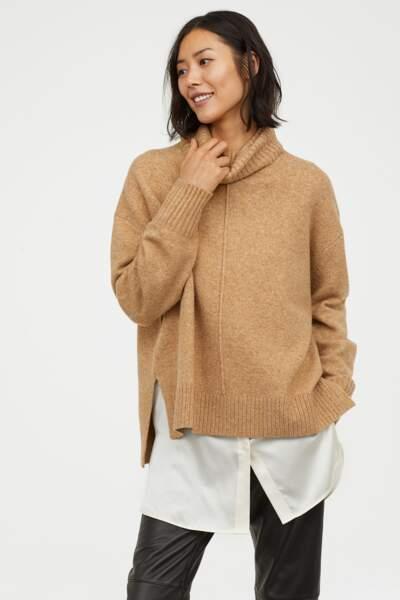 Pull oversize, H&M, 29,99€