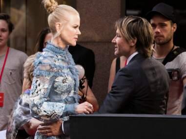 Nicole Kidman et son mari Keith Urban : dispute sur le tapis rouge