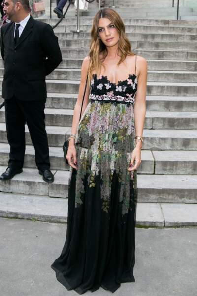 L'actrice, créatrice de mode et muse Bianca Brandolini d'Adda