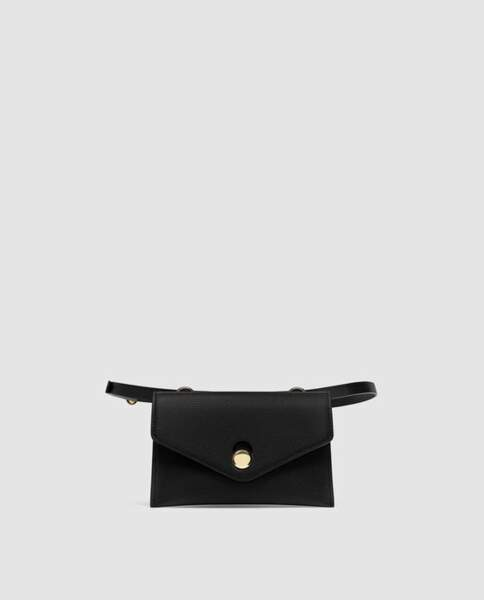 Le retour du sac banane : Sac banane petit format, Zara, 15,95 euros