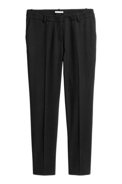 Pantalon de tailleur, H&M, 11,99 euros