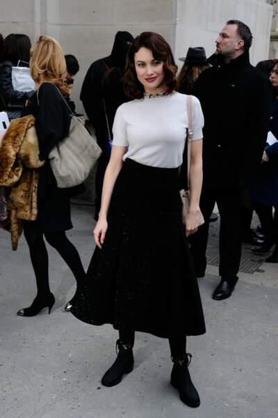 Défilé Chanel Haute Couture : Olga Kurylenko