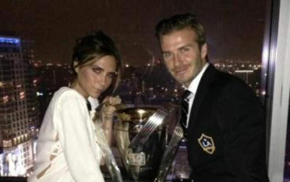 Victoria et David Beckham
