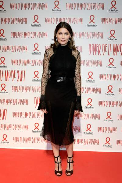 Dîner du Sidaction 2017 : Laetitia Casta