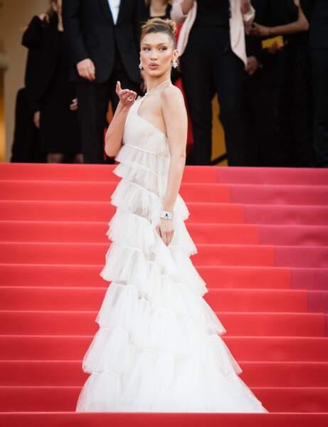 Do : Bella Hadid en Dior
