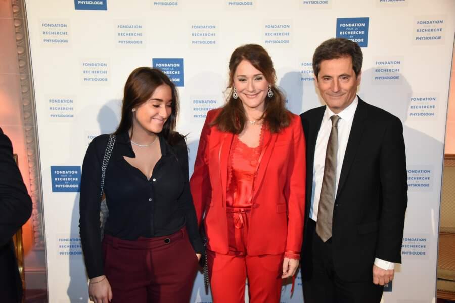 Gala Les Stethos D'Or 2018 : Carla Ghebali, Daniela Lumbroso et Eric Ghebali