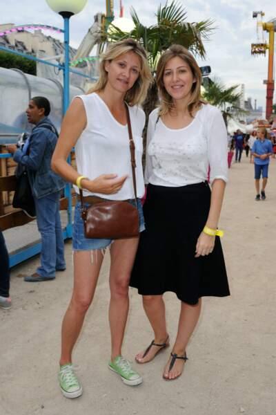 Sarah Lavoine et Amanda Sthers