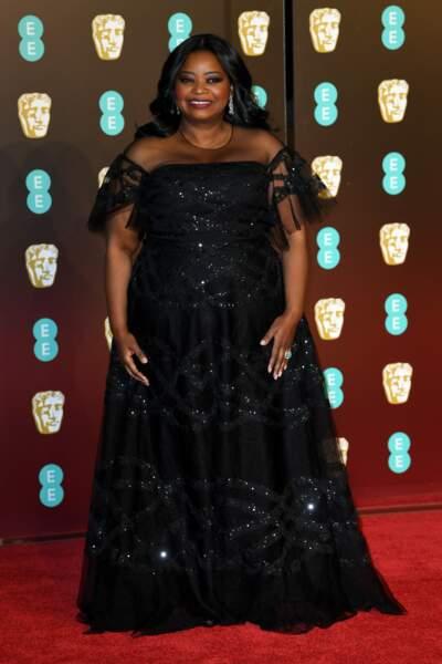 Octavia Spencer aux BAFTA Film Awards 2018 à Londres, le 18 février