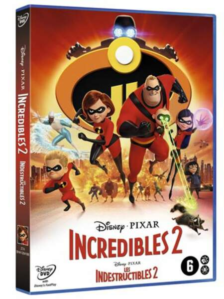 Les Indestructibles 2 / Disney Pixar / 21,99 €