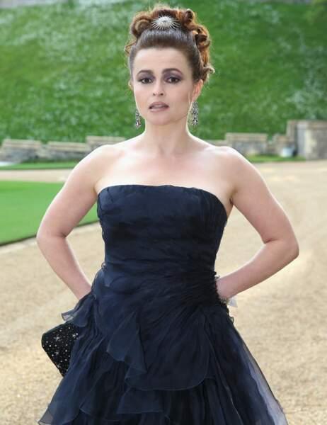 Helena Bonham-Carter a fait sobre pour une fois... Enfin, à sa manière