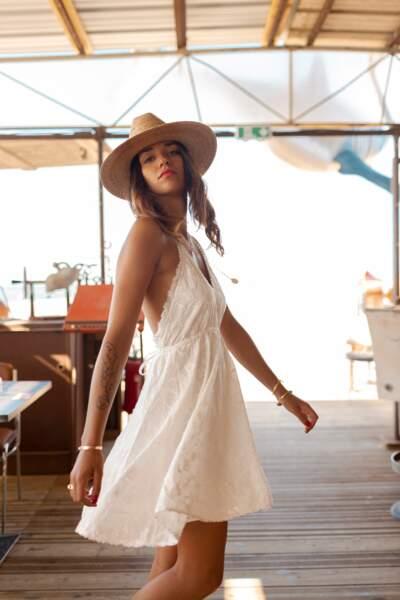 Robe Serres blanche, Stella Et Suzie, 39€