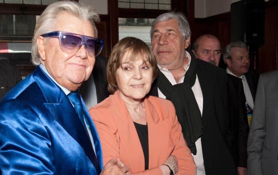 Michou, Marie-Laure Augry et Jean-Pierre Castaldi