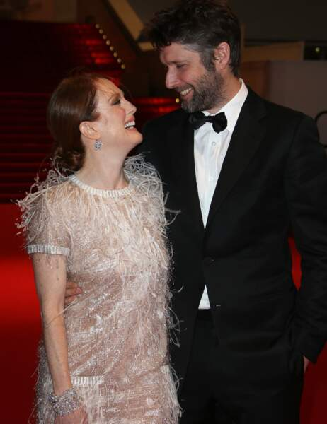 Julianne Moore et son mari Bart Freundlich