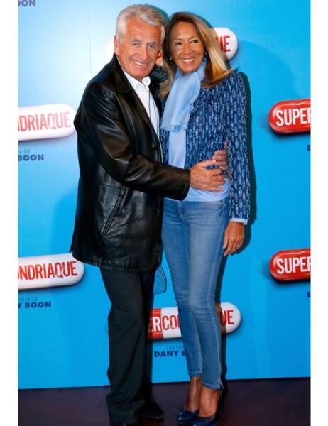 Le producteur Gilbert Coullier et sa femme Nicole