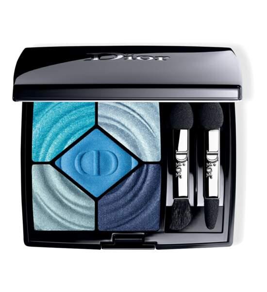 Palette 5 couleurs wave édition limitée summer 18, Dior, 61 euros