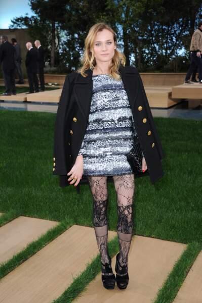 Diane Kruger, ok, mais on se serait bien passés des collants
