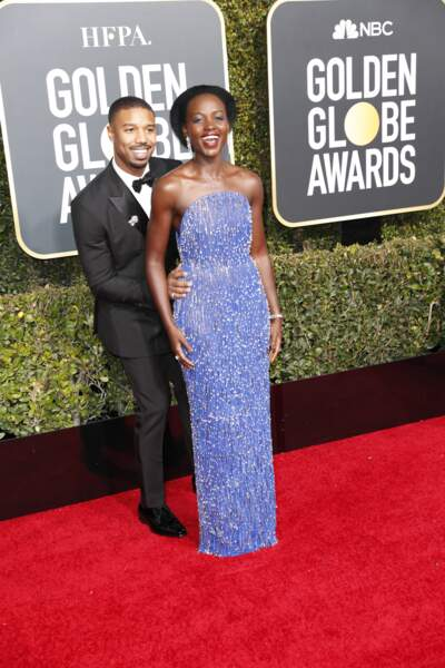 76ème cérémonie des Golden Globes : Michael B. Jordan et Lupita Nyong'o