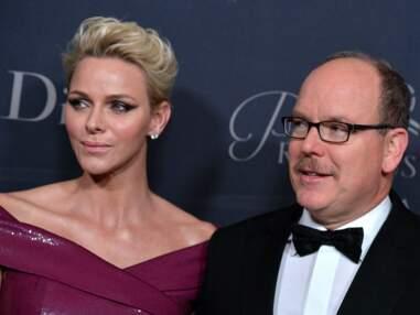 Princess Grace Awards : Charlène de Monaco très élégante, une femme en robe transparente
