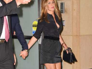Jennifer Aniston ultra sexy pour soutenir son chéri Justin Theroux