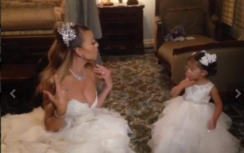 Mariah Carey et sa fille, Monroe