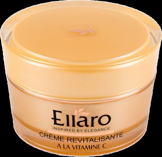 Crème revitalisante à la vitamine C, Ellaro, 28,40€ les 50ml