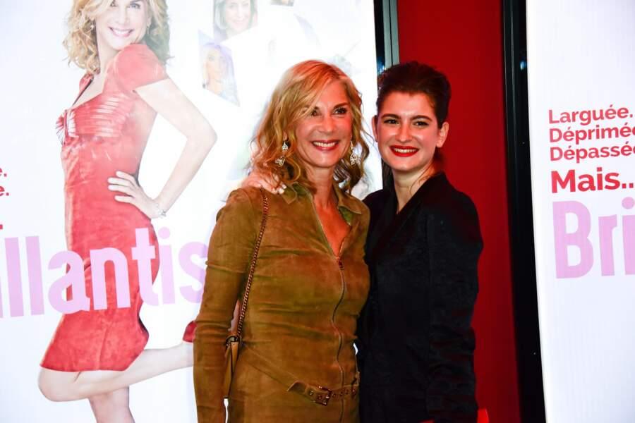 Michèle Laroque et Oriane Deschamps à l'avant-première du film Brillantissime, Paris