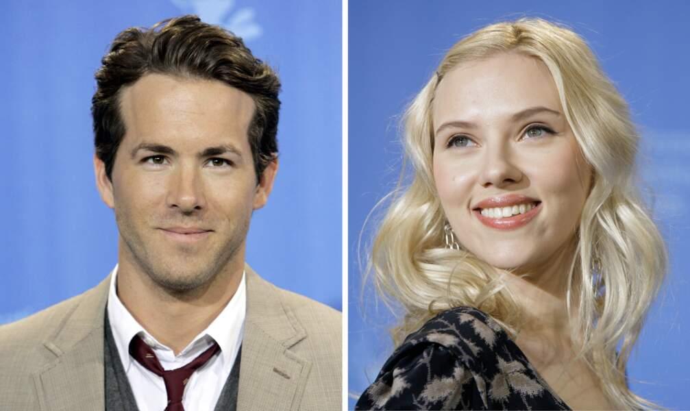 2007 : Ryan Reynolds et Scarlett Johansson sont en couple