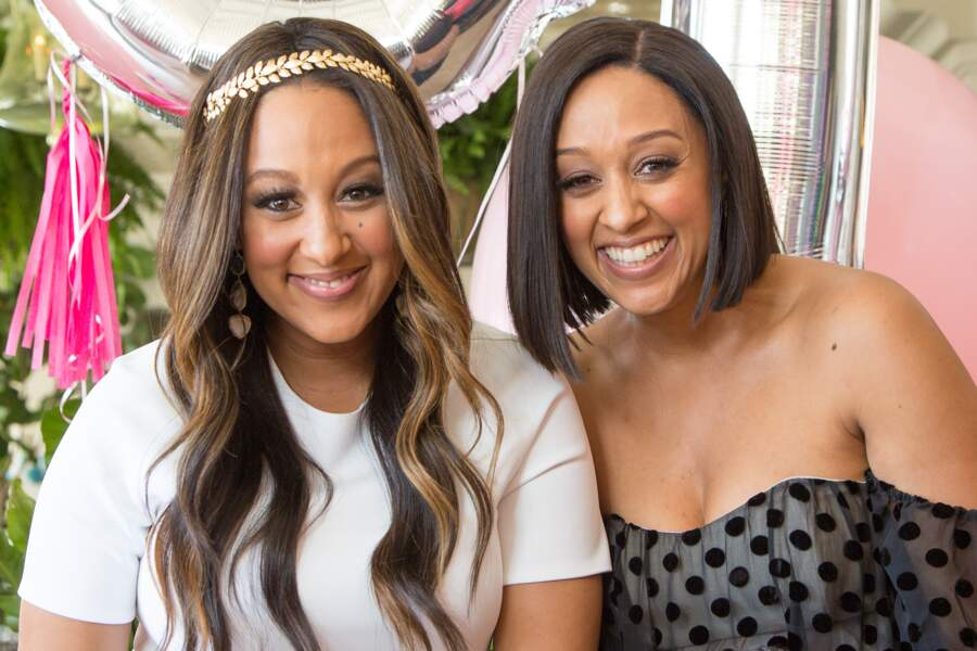 Les sœurs Tameria et Tia Mowry, elles aussi jumelles célèbres grâce à la télé