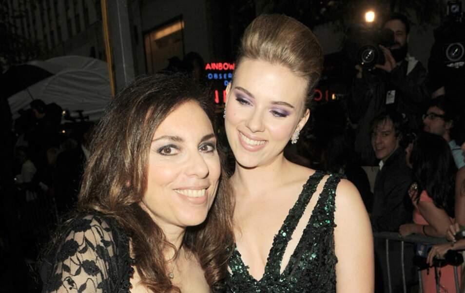 Scarlett Johansson et sa mère