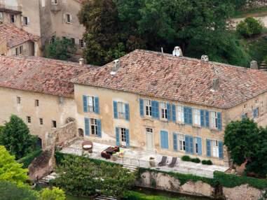 PHOTOS Angelina Jolie et Brad Pitt mettent en vente le chateau de Miraval situé dans le sud de la France