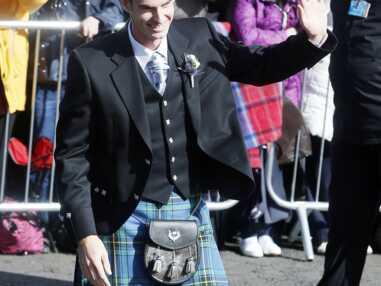 Le tennisman Andy Murray s'est marié en kilt