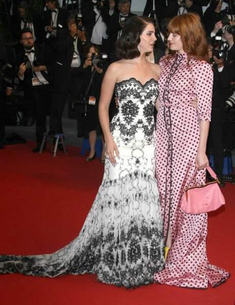 Lana Del Rey et Florence Welsh